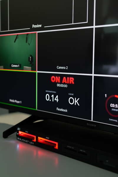 Live Streaming On Air Indicator