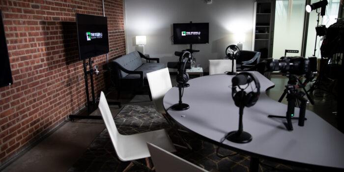 Podcasting Studio Rental Space